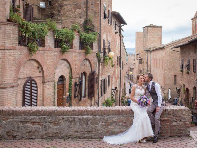 Il matrimonio di James e Nicola a Certaldo, Firenze 35