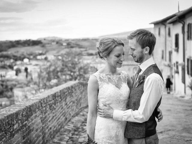 Il matrimonio di James e Nicola a Certaldo, Firenze 36