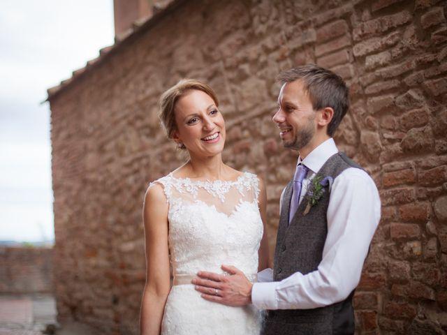 Il matrimonio di James e Nicola a Certaldo, Firenze 37