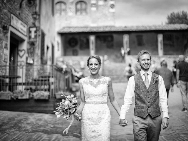 Il matrimonio di James e Nicola a Certaldo, Firenze 38