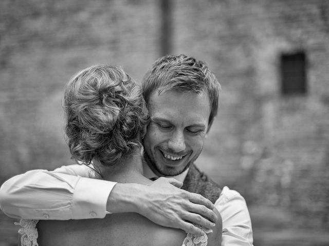 Il matrimonio di James e Nicola a Certaldo, Firenze 39