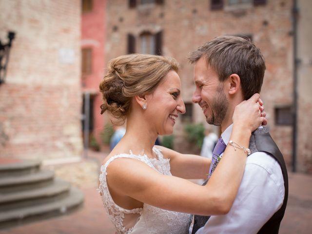 Il matrimonio di James e Nicola a Certaldo, Firenze 41
