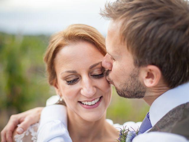 Il matrimonio di James e Nicola a Certaldo, Firenze 2