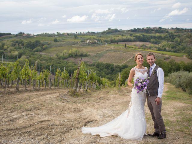 Il matrimonio di James e Nicola a Certaldo, Firenze 44