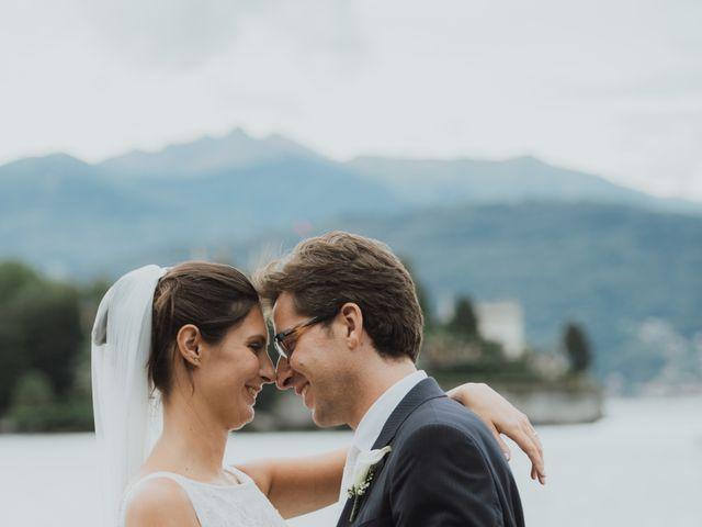 Il matrimonio di Filippo e Nicoletta a Belgirate, Verbania 34