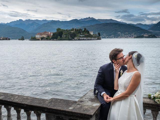 Il matrimonio di Filippo e Nicoletta a Belgirate, Verbania 35