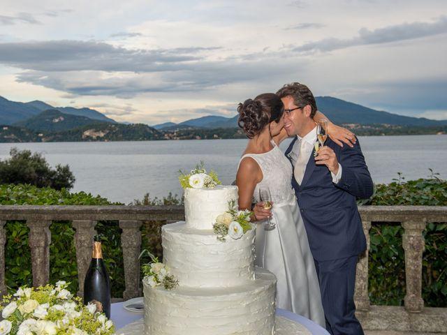 Il matrimonio di Filippo e Nicoletta a Belgirate, Verbania 43