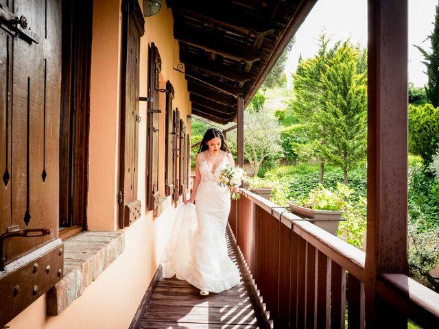 Il matrimonio di Fabio e Alexandra a Cocconato, Asti 19