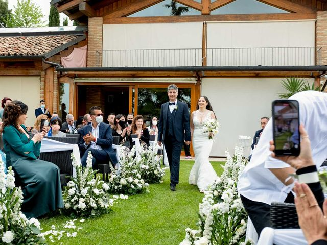 Il matrimonio di Fabio e Alexandra a Cocconato, Asti 27