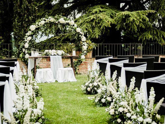 Il matrimonio di Fabio e Alexandra a Cocconato, Asti 28