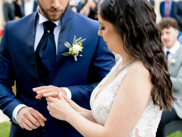 Il matrimonio di Fabio e Alexandra a Cocconato, Asti 32