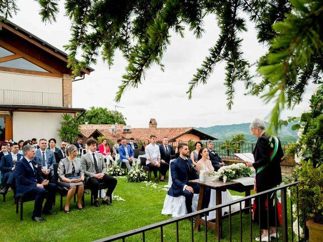 Il matrimonio di Fabio e Alexandra a Cocconato, Asti 34