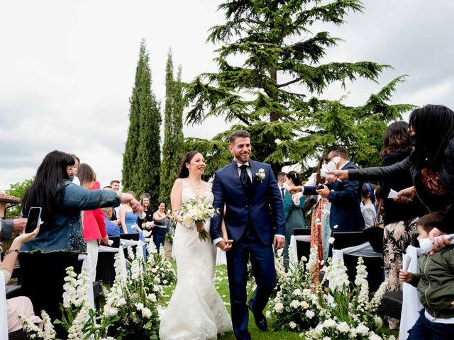 Il matrimonio di Fabio e Alexandra a Cocconato, Asti 35