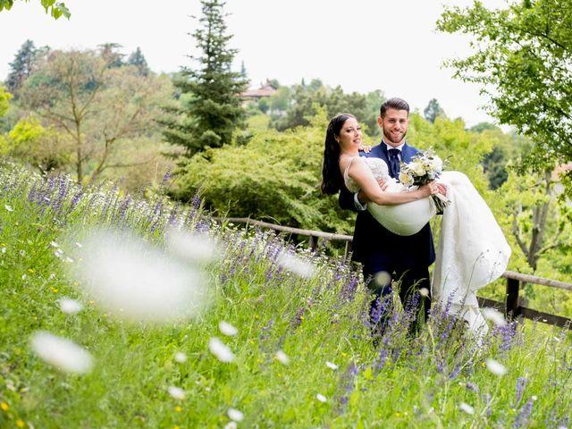 Il matrimonio di Fabio e Alexandra a Cocconato, Asti 39