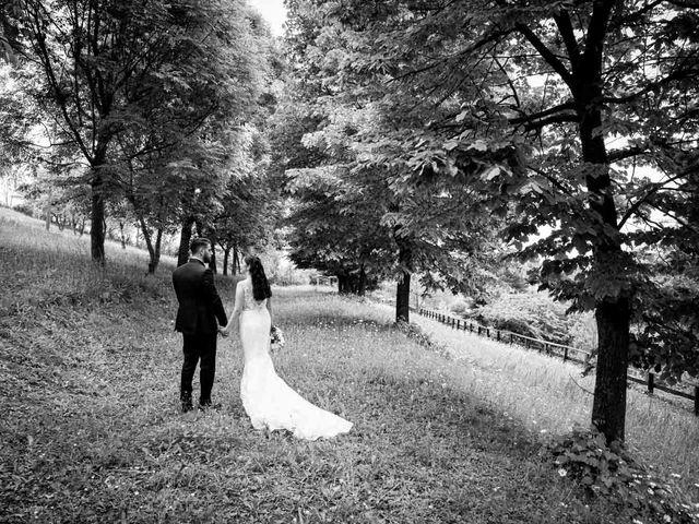 Il matrimonio di Fabio e Alexandra a Cocconato, Asti 45