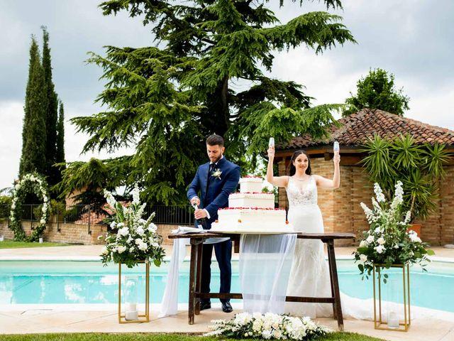 Il matrimonio di Fabio e Alexandra a Cocconato, Asti 50