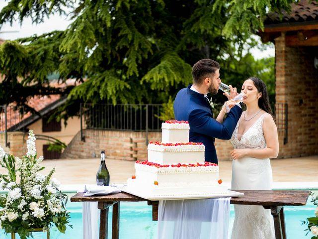 Il matrimonio di Fabio e Alexandra a Cocconato, Asti 51
