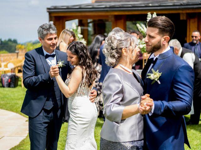 Il matrimonio di Fabio e Alexandra a Cocconato, Asti 52