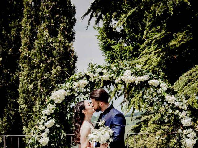 Il matrimonio di Fabio e Alexandra a Cocconato, Asti 54
