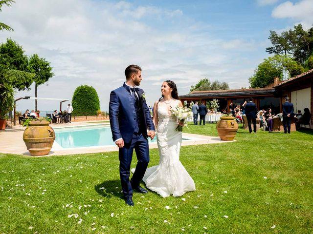 Il matrimonio di Fabio e Alexandra a Cocconato, Asti 55
