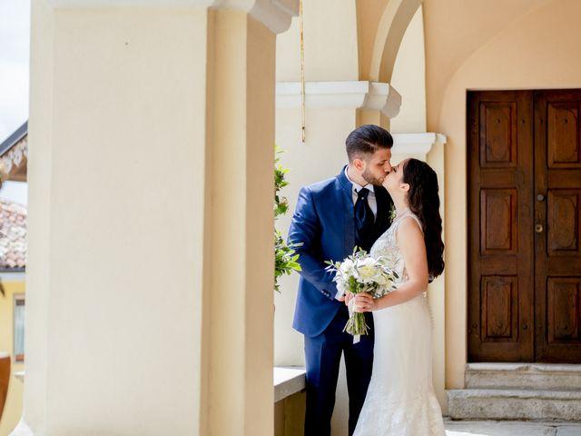 Il matrimonio di Fabio e Alexandra a Cocconato, Asti 57