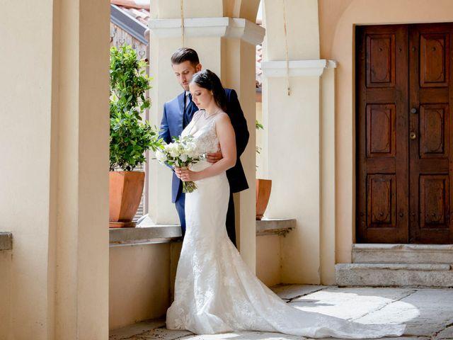Il matrimonio di Fabio e Alexandra a Cocconato, Asti 58