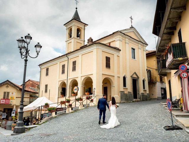 Il matrimonio di Fabio e Alexandra a Cocconato, Asti 60