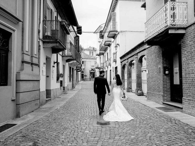 Il matrimonio di Fabio e Alexandra a Cocconato, Asti 63