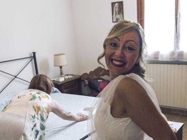 Il matrimonio di Lorenzo e Serena a Montespertoli, Firenze 9