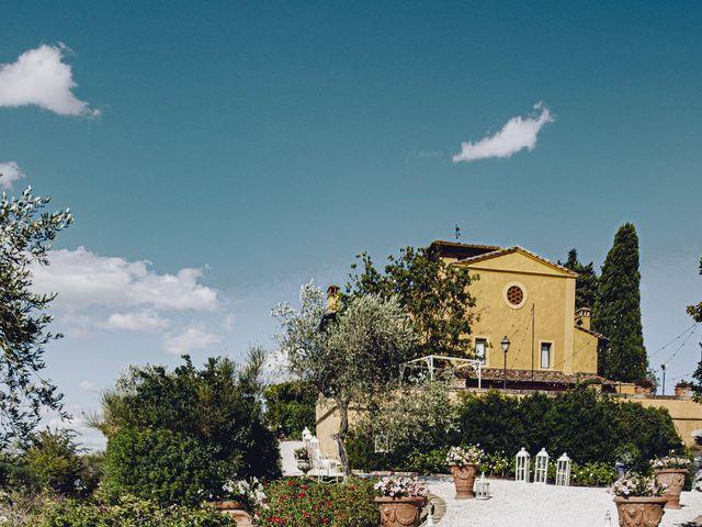 Il matrimonio di Lorenzo e Serena a Montespertoli, Firenze 11