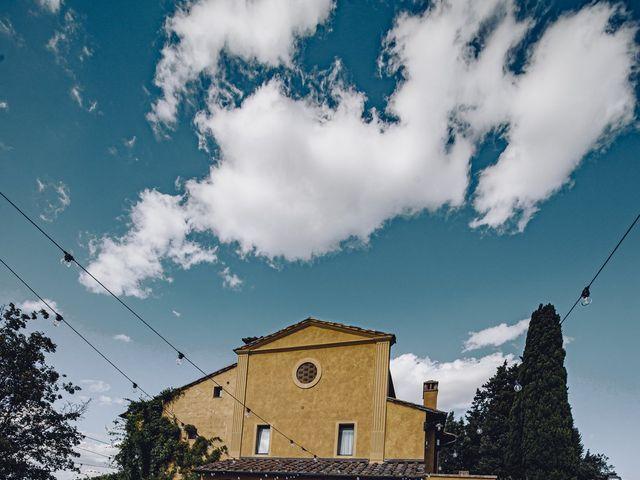 Il matrimonio di Lorenzo e Serena a Montespertoli, Firenze 12