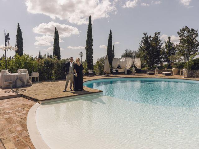 Il matrimonio di Lorenzo e Serena a Montespertoli, Firenze 13
