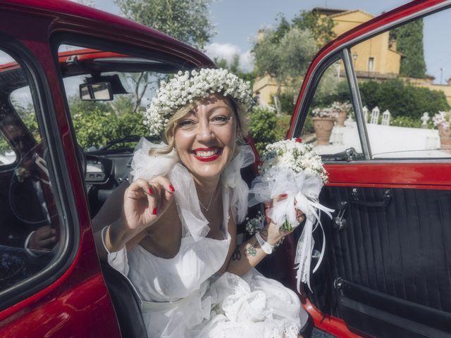 Il matrimonio di Lorenzo e Serena a Montespertoli, Firenze 15