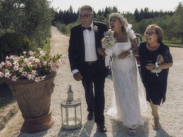 Il matrimonio di Lorenzo e Serena a Montespertoli, Firenze 16