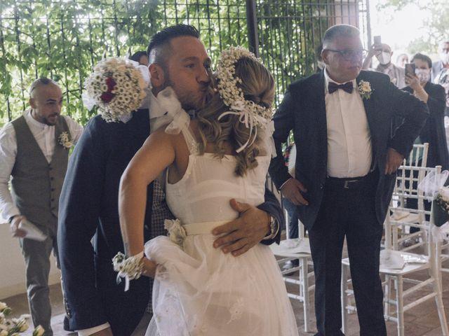 Il matrimonio di Lorenzo e Serena a Montespertoli, Firenze 17