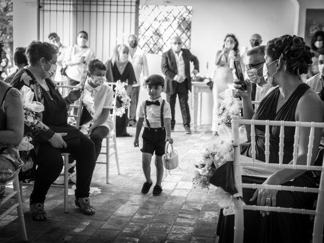 Il matrimonio di Lorenzo e Serena a Montespertoli, Firenze 18