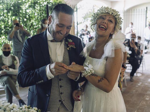 Il matrimonio di Lorenzo e Serena a Montespertoli, Firenze 20