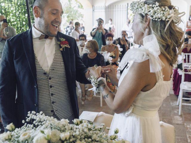 Il matrimonio di Lorenzo e Serena a Montespertoli, Firenze 21