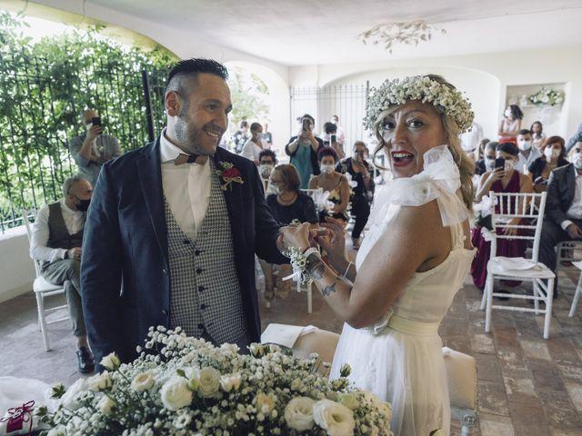 Il matrimonio di Lorenzo e Serena a Montespertoli, Firenze 22