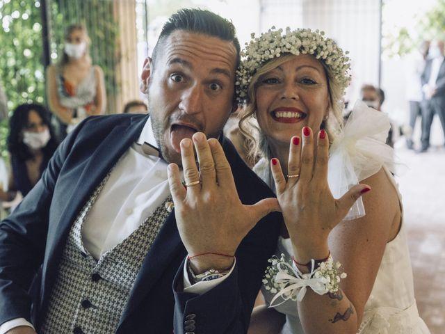 Il matrimonio di Lorenzo e Serena a Montespertoli, Firenze 1