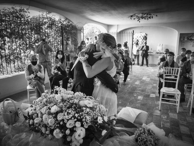 Il matrimonio di Lorenzo e Serena a Montespertoli, Firenze 2