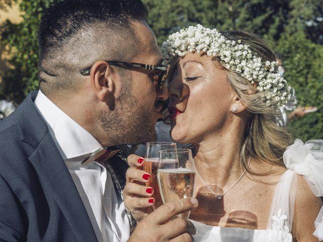 Il matrimonio di Lorenzo e Serena a Montespertoli, Firenze 25