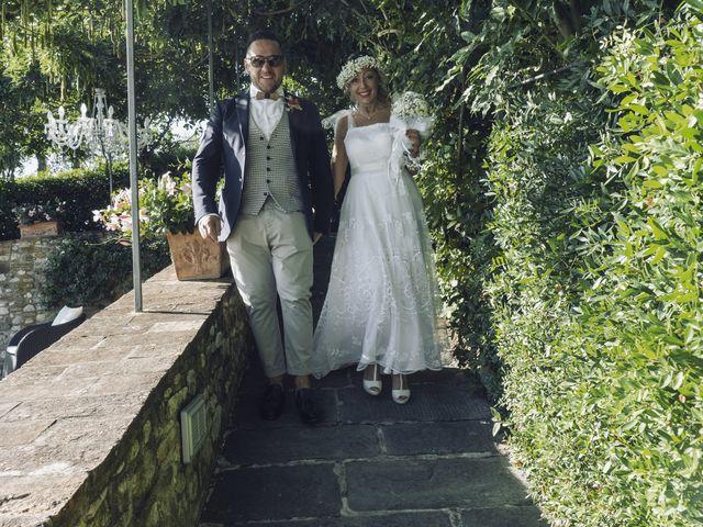 Il matrimonio di Lorenzo e Serena a Montespertoli, Firenze 26