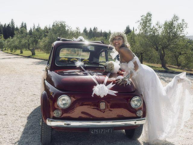 Il matrimonio di Lorenzo e Serena a Montespertoli, Firenze 28