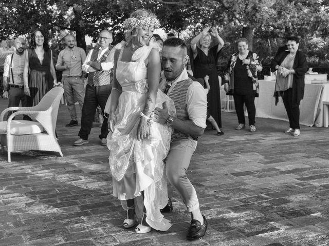 Il matrimonio di Lorenzo e Serena a Montespertoli, Firenze 34