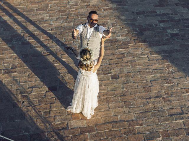 Il matrimonio di Lorenzo e Serena a Montespertoli, Firenze 35