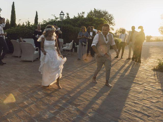 Il matrimonio di Lorenzo e Serena a Montespertoli, Firenze 36