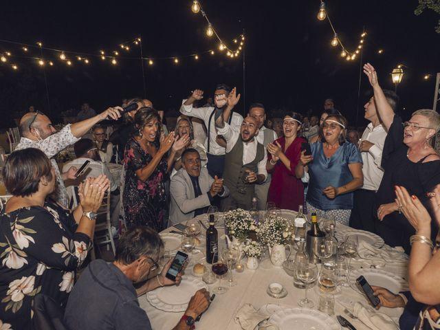 Il matrimonio di Lorenzo e Serena a Montespertoli, Firenze 46