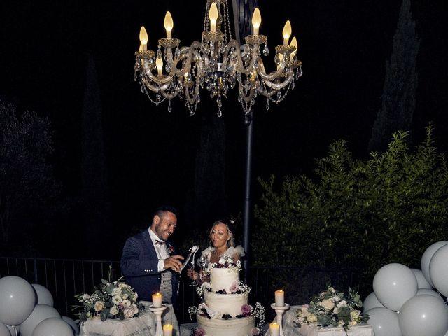 Il matrimonio di Lorenzo e Serena a Montespertoli, Firenze 49