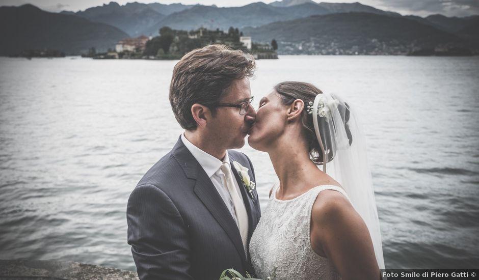 Il matrimonio di Filippo e Nicoletta a Belgirate, Verbania